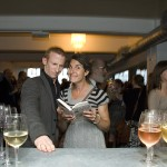 SoT launch party at Shoreditch House, with Tamsin Greig